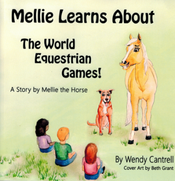 Mellie Learns About The World Equestrian Games