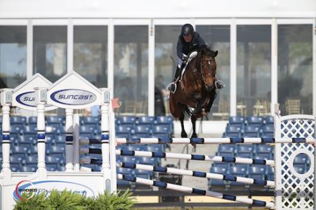 Meredith Michaels-Beerbaum and Daisy, WEF, week 2 2017