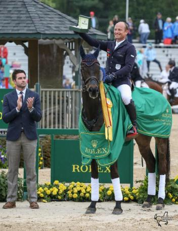 Two-time defending Rolex Kentucky champion Michael Jung and FischerRocana FST