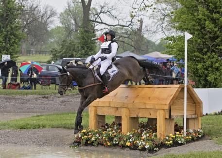 Michael Jung (GER) rides Fischerrocana FST during the cross country phase of the 2016 Rolex Kentucky Three Day Event, Presented by Land Rover.