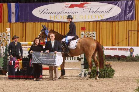 Molly Ashe (USA) and Picobello Choppin PC Win the $35,000 Keystone Classic, Sponsored by the World Equestrian Center