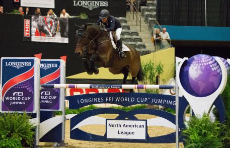 Molly Ashe (USA) and Carissimo, third place in the qualifier of this exciting league.