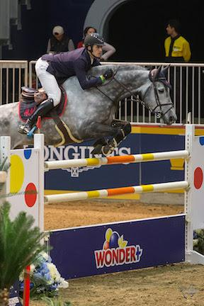 Belgium's Nicola Philippaerts claimed victory riding H&M Harley vd Bisschop in the $50,000 Weston Canadian Open held Friday night, November 13, at the Royal Horse Show®.