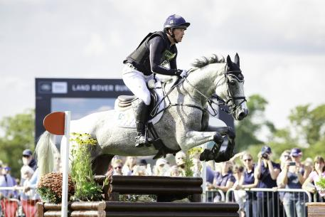 Saving the best till last: Final combination on the course Oliver Townend (GBR) and Ballaghmor Class take over the lead after a cross country day full of suspense, on a score of 40.6 at the Land Rover Burghley Horse Trials, sixth and final leg of the FEI Classics™ series.
