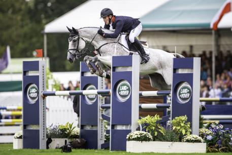 Pure class: Oliver Townend (GBR) wins a second Land Rover Burghley Horse Trials title, sixth and final leg of the FEI Classics™, riding Ballaghmor Class.