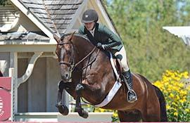 Olivia Lawton and Balin. (Photo: Chicago Equestrian)