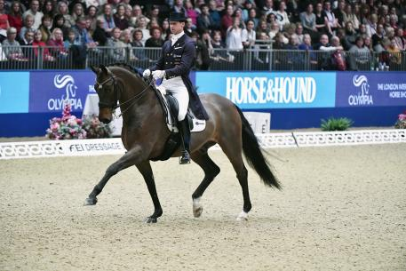 Sweden's Patrik Kittel and Delaunay clinched victory at tonight's electrifying fifth leg of the FEI World Cup™ Dressage 2017/2018 Western European League at London Olympia (GBR).