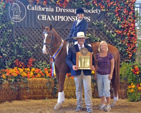 Peggy Klump, Damon Lee, CDS Horse of the Year, Third Level, USDF Region 7, CDS Championship Show