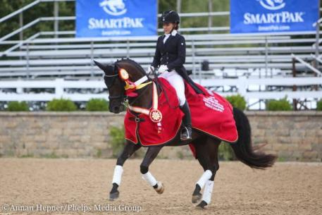Rachel Robinson, Indira, Young Rider Championship, Markel/USEF Young and Developing Horse National Championships