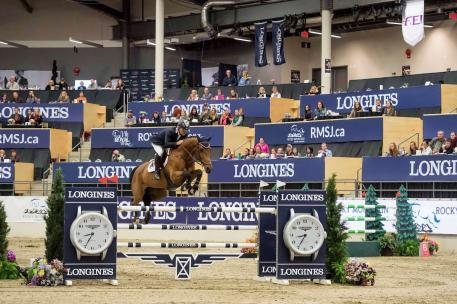 Chile's Samuel Parot and Atlantis have won the Longines FEI World Cup™ Jumping qualifier in Calgary (CAN), and are now setting their sights on the last two East Coast qualifiers in Wellington and Ocala.