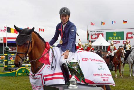 "Scott Brash and ""Ursula"", winners of the ""CP 'International',"