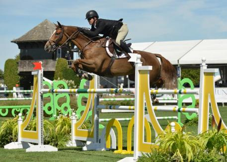 Shane Sweetnam and Main Road Win Great Southwest Equestrian Center Class