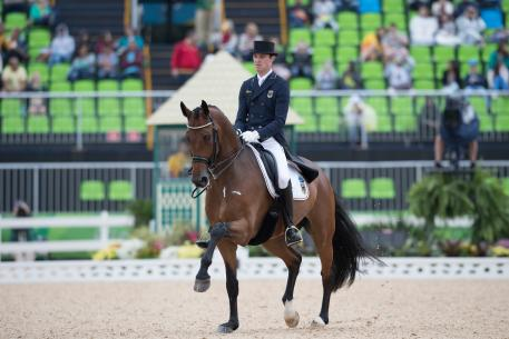 Soneke Rothenberger (GER) and Cosmo 59 (Photo: Dirk Caremans)