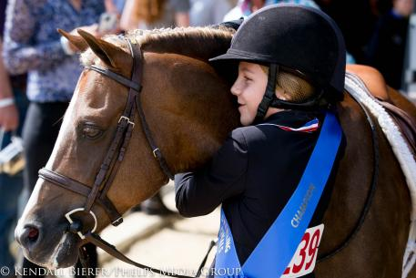 Sophie Gochman and Rico Suave, us pony finals