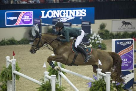 Steve Guerdat, Longines FEI World Cup 2015, Switzerland, Arnd Bronkhorst