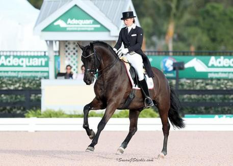 Suzan Pape and Harmony's Don Noblesse