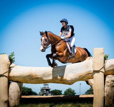 Sydney Conley Elliot competing at Great Meadow International. (Photo: Shannon Brinkman Photography)