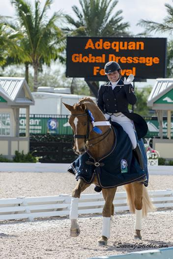 Tanya Strasser-Shostak and Action Tyme will represent Canada in the CDIO-U25 at AGDF 11