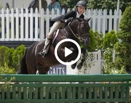 Watch the video Tessa Downey and Anisette, Winning Ride