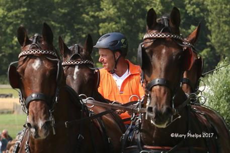 Theo Timmerman, member of the gold medal Dutch team at both the 2014 WEG and 2016 World Championship