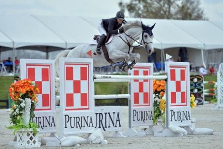 Tracey Fenney, USA, MTM Reve Du Paradis, $50,000 Purina Animal Nutrition Grand Prix, (C) ESI Photography