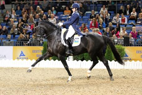 Inna Logutenkova, Ukraine, Don Gregorius, World Dressage Masters 2015