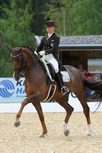 Austrian national dressage championship at dressage at for Evelyn schreiner