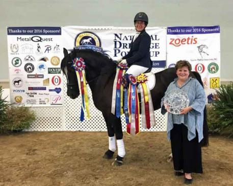 Anna Jaffe, Wynshire's Aristocrat, National Dressage Pony Cup