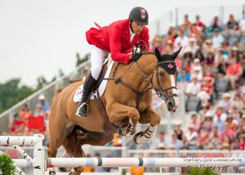 Yann Candele and Showgirl, owned by The Watermark Group, represented Canada at the 2014 Alltech FEI World Equestrian Games in Normandy, France, and led Canada to a team gold medal at the 2015 Pan American Games in front of a home crowd in Toronto, Canada.