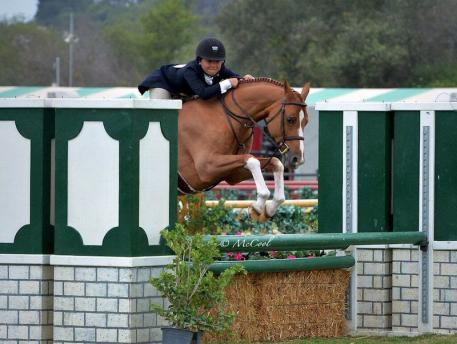 Augusta Iwasaki and Kingston (Photo: McCool)