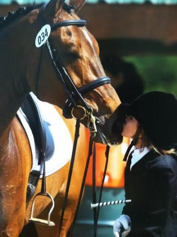 Ayden Uhlir and Sjapoer (Photo: Terrie Hatcher)