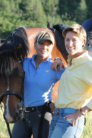 Linda Parelli (left) and Dr. Jenny Susser Ph.D. (right) will present The Emotional Fitness for the Horse and Rider Super Clinic on February 27- March 1 at Industry Hills Expo Center in City of Industry, CA
