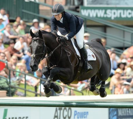 Beezie Madden and Cortes 'C' (Photo: Spruce Meadow Media)