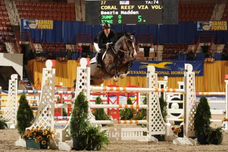 Keystone Classic winners Beezie Madden and Coral Reef Via Volo (c) Al Cook - alcook.com