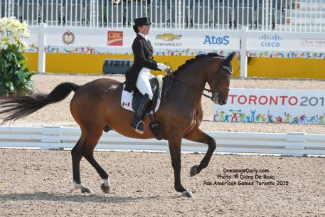 Belinda Trussell and Anton (CAN) Photo: © Diana De Rosa