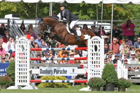 Brianne Goutal and Nice de Prissey, 2013 American Gold Cup champions.
