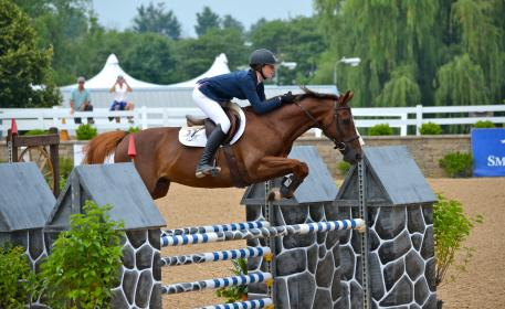 Caelinn Leahy and Kaner 88 won the ,500 Low Junior/Amateur Classic at Equifest I. (Photo: Lily Kubly)