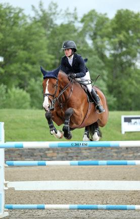 Caitlyn Connors and Bink-A (Photo: ESI Photography)