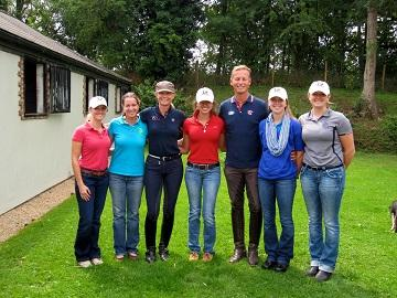 Photo: 2013 International Dream Participants and Chaperons with Carl Hester and Katherine Bateson Chandler