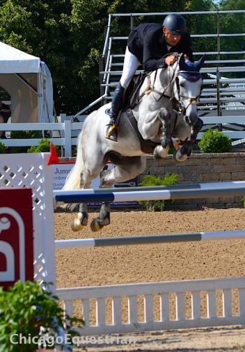 Christoph Schroeder and Catungee took home the second place paycheck. (Photo: Elizabeth Stein)
