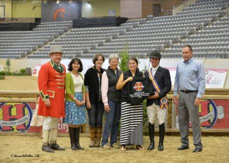 Christopher Payne - Winner of the 0,000 Hallway Feeds Leading Professional Rider Award. Photo By: Shawn McMillan
