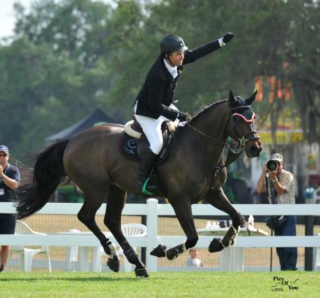 Ireland's Cian O' Connor and Good Luck win the 2015 Live Oak International CSI2*W Grand Prix and World Cup Qualifier (Photos:PicsOfYou.com)