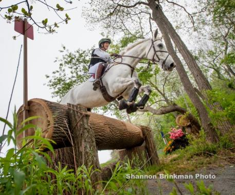 Colleen Loach of Dunham, Que. met the qualification standards to be considered as a TORONTO 2015 Pan Am Games team member after placing sixth with Qorry Blue D'Argouges in the CCI 2* division at the Jersey Fresh International Three-Day Event, held May 6-10 in Allentown, N.J. Shannon Brinkman Photography