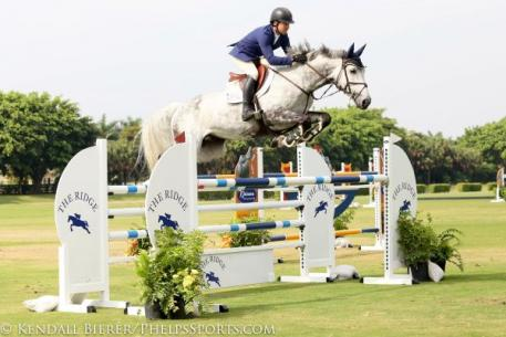 Conor Swail and Dillinger captured the $24,990 Ridge at Wellington Grand Prix Finale at the International Polo Club Palm Beach.