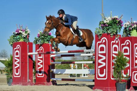 Devin Ryan and Chantilly at last year's Atlanta Spring Classic