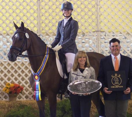 DG Bantana (ridden by Ashlyn DeGroot) is just one of a multitude of current dressage champions produced by DG Bar Ranch. (Photo: courtesy of DG Bar Ranch)