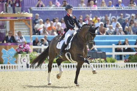 Charlotte Dujardin (GBR) and Valegro, Olympic and European champions, will be aiming for world honours to complete the hat-trick at the Alltech FEI World Equestrian Games™ 2014 in Normandy next week. Photo: FEI/Kit Houghton.