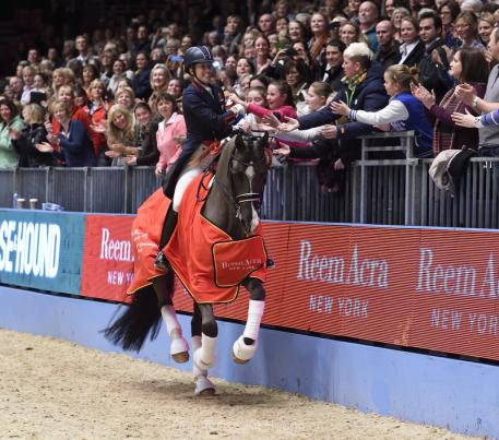 Charoltte Dujardin break yet another record for the Freestyle at the Olympia, The London International Horse Show