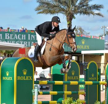 Eric Lamaze and Fine Lady 5, owned by Artisan Farms LLC. (Photo: © Starting Gate Communications)