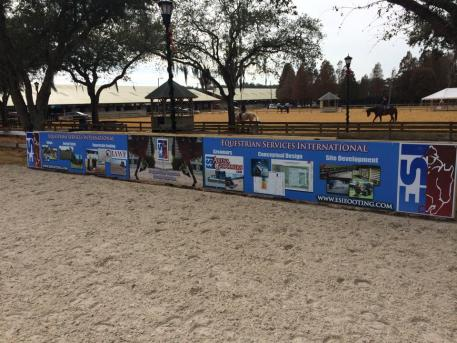 The new ESI International All Weather Footing was installed before last year's Gold Coast Quarter Horse Show.